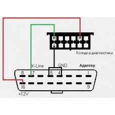 Переходник на Lada, ВАЗ 12 pin