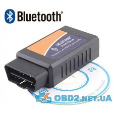 Автосканер ELM327 Bluetooth v1.4 адаптер OBD2