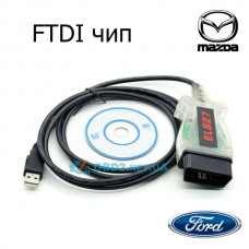 Сканер ELS27 FORScan OBD2 для диагностики авто Ford Mazda Lincoln Mercury