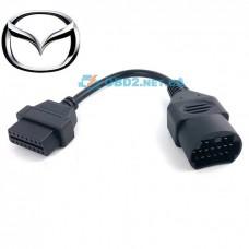 Переходник Mazda 17 pin на OBD2 16 pin