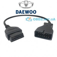 Переходник OBD2 16pin GM12 DAEWOO 12-PIN