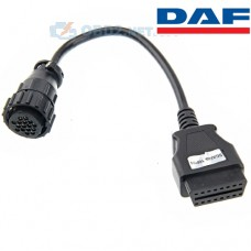 Переходник Daf/Scania 16 pin в OBD2 16 pin