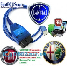 Адаптер VAG KKL409.1 USB для диагностики Fiat